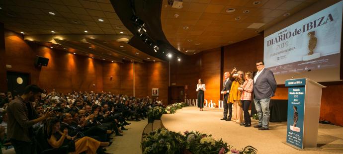 Premis Diario de Ibiza 2019: la noche de Manu, Alba y los Vilás