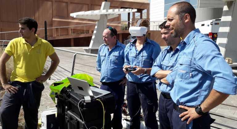 Un robot submarino que minimiza riesgos