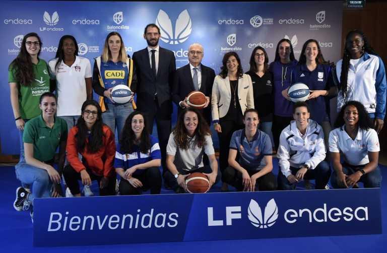 Endesa, principal patrocinador de la  a la liga femenina de baloncesto