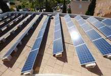 Placas solares instaladas en Diario de Ibiza. fotos: Sergio G. Cañizares