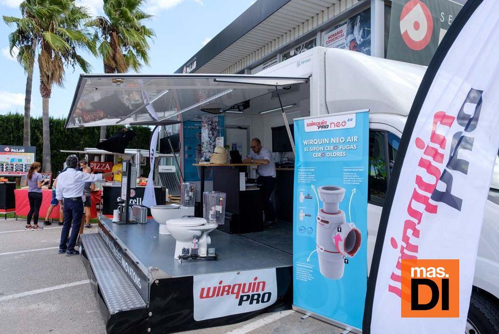 Wirquin Tour aterriza en Servicios Palau