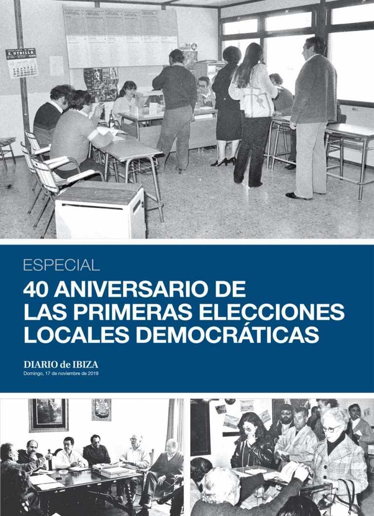 40 Aniversario de las primeras elecciones locales democráticas