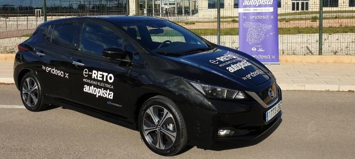 Endesa logra un reto de 7.000 kilómetros para normalizar el uso del coche eléctrico