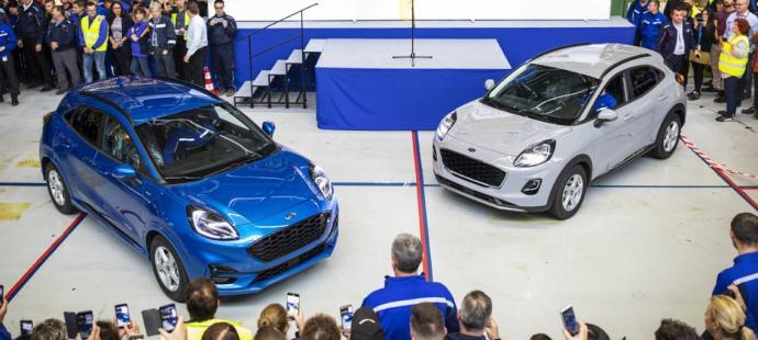 Los nuevos Ford Puma y Kuga, a escena en 2020
