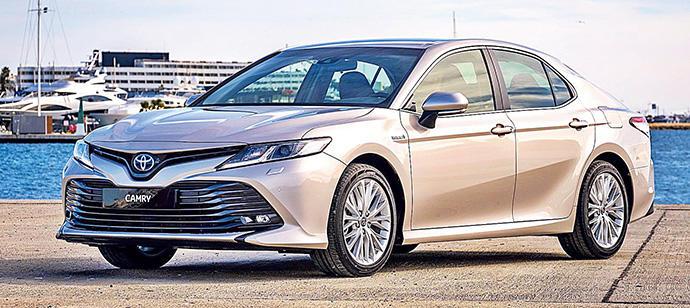 Nuevo Toyota Camry, gran aplomo y confort