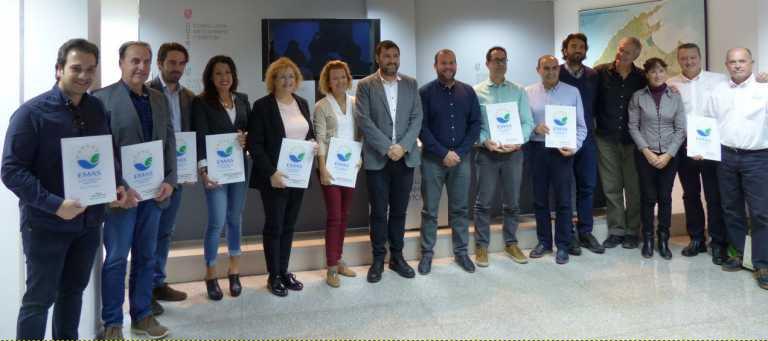 Marina Ibiza recibe un premio por su compromiso con el medio ambiente