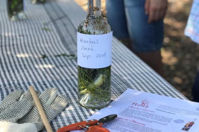 Aprender a hacer hierbas payesas de Ibiza