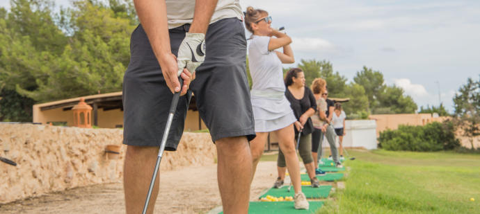 Oportunidad única para practicar golf en Ibiza