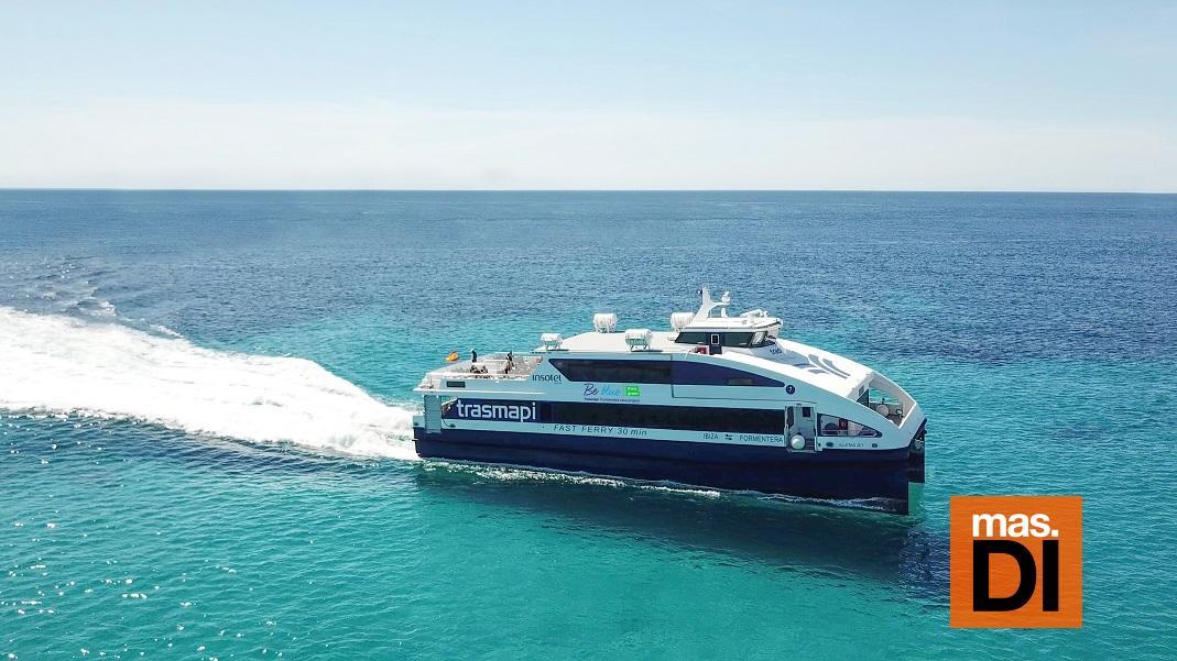 Trasmapi Fast Ferry Ibiza Formentera incorpora el control biométrico para viajar entre islas | másDI - Magazine