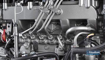 Los motores Yanmar integran la tecnología common rail más avanzada.