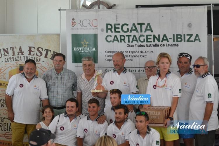 El equipo Kundaka-Elite de José Coello recoge el premio