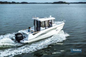 La Barracuda 7 es idónea para pescar y salir de paseo.