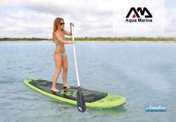 Las tablas de pádel surf son fáciles de almacenar.