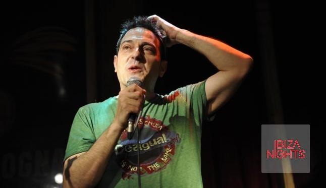 Juan Carlos Cordoba en su show de la semana pasada.
