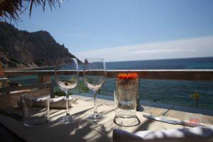 La terraza, un lugar ideal para el almuerzo.