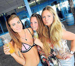 Fun and youth set the standard in Bora Bora.