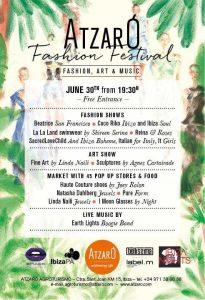 Cartel del evento Atzaró Fashion Festival