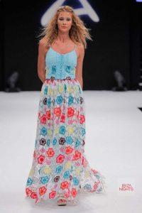 Vintage Ibiza presentó esta colorida falda setentera. | C.I.