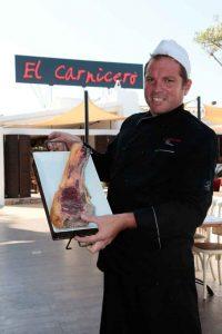 Chuletón de carne de buey de El Capricho