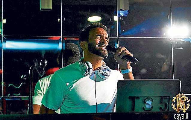 Craig David estrena residencia en Ibiza.