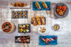 Creatividad, colorido y presentación en sus platos.