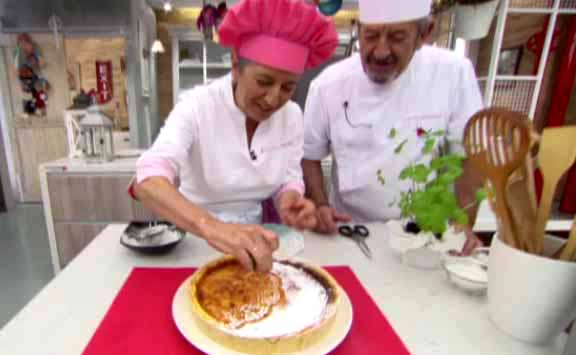 Eva y Karlos Arguiñano preparan un 'flaó