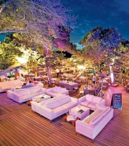 La terraza principal de Blue Marlin Ibiza. MAR SERRA