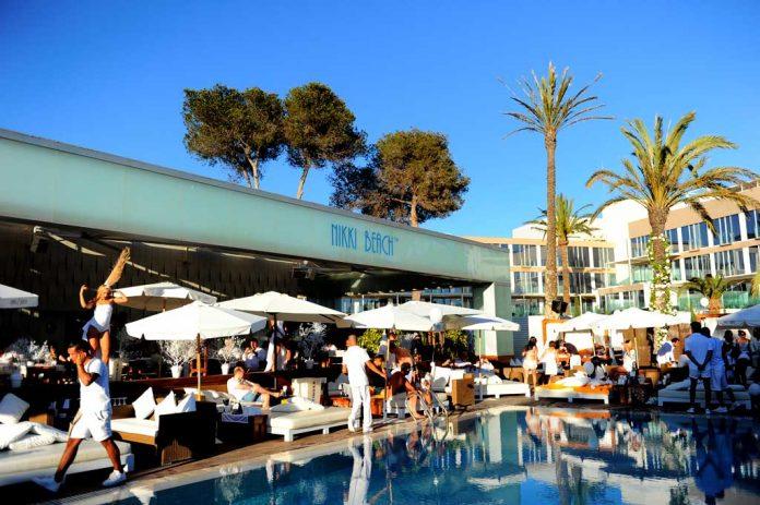 Nikki Beach, el escenario ideal para una fiesta.
