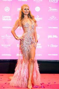 Paris Hilton en su opening en Amnesia Foam& Diamonds