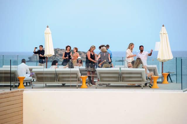 La espectacular terraza del Hotel Me. S.G.C.