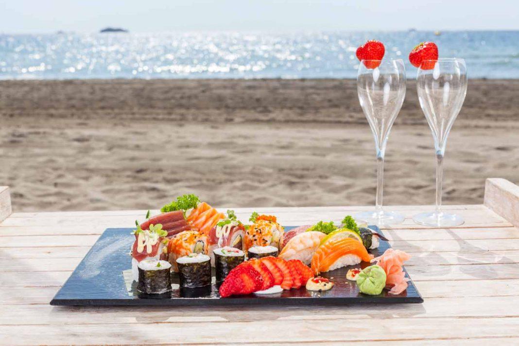 Un delicado 'sushi'.