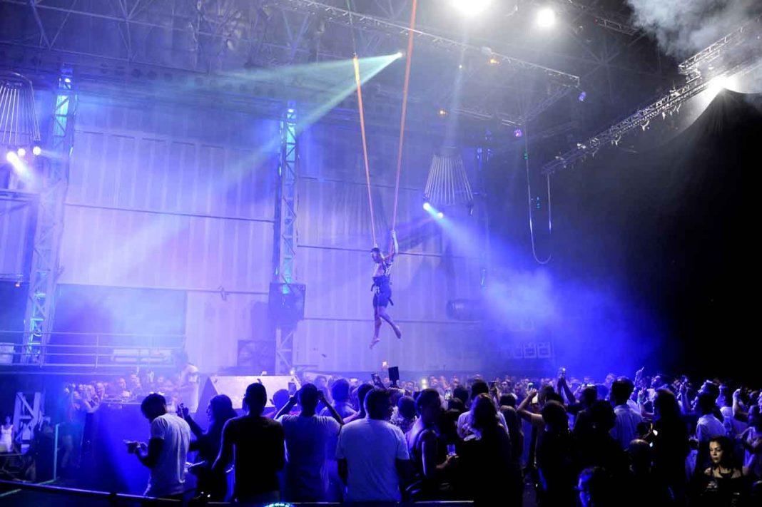 'Performance' sobre el público. GABI VÁZQUEZ