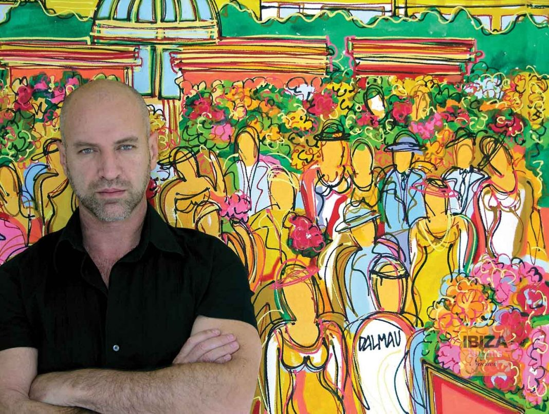 El talentoso artista David Dalmau.
