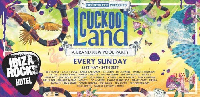 Cuckoo Land en Ibiza Rocks Hotel