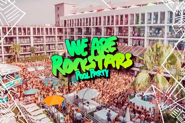 We-Are-Rockstars-Pool-Party en Ibiza Rocks Hotel
