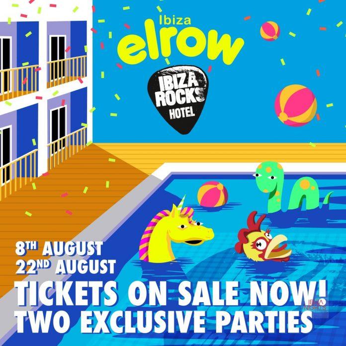 elrow pool parties en Ibiza Rocks Hotel