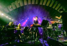 50 Aniversario Pachá, El famoso dj británico Pete Tong con la Heritage Orchestra en la celebración del aniversario en el mes de agosto en el Destino Pachá Ibiza Resort.