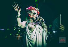 La Troya Heart. Baby Marcelo se caracterizó de emperador romano el miércoles pasado en la fiesta 'Bacanal'. Foto: Julius Jooste