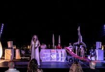 Un de los shows del espectáculo de Heaven en la terraza 'The Ninth' en el Hard Rock Hotel Ibiza de Platja d´en Bossa. R.C.