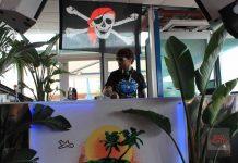 the zombie kids La simbología pirata está presente por todo el 'beach club'. Foto: Karina Sayas