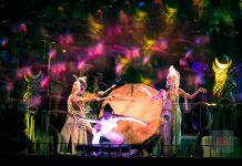 Una de las 'performances' más representativas de WooMooN. Foto: Phantomography