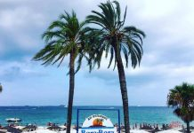 Bora Bora está situado literalmente a pie de playa. Foto: Karina Sayas