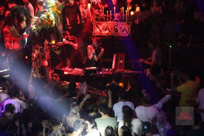 Satori tocó y cantó anteriormente en Saga en Heart Ibiza y vuelve esta noche. Foto: JS