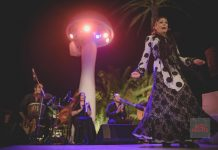 noche flamenca destino ibiza. Música y baile flamenco a la luz de la luna mañana por última vez en Destino. Foto: Ana Ruiz de Villota