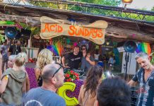 Un domingo con el ácido y divertido sabor de Acid Sundays. Fotos: Heart Ibiza