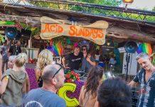 Aire libre. Un domingo con el ácido y divertido sabor de Acid Sundays. Fotos: Heart Ibiza
