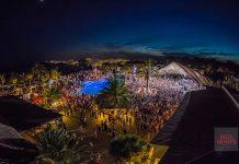 El escenario al aire libre ideal para sentir cada pista del dj. Fotos: Destino Ibiza