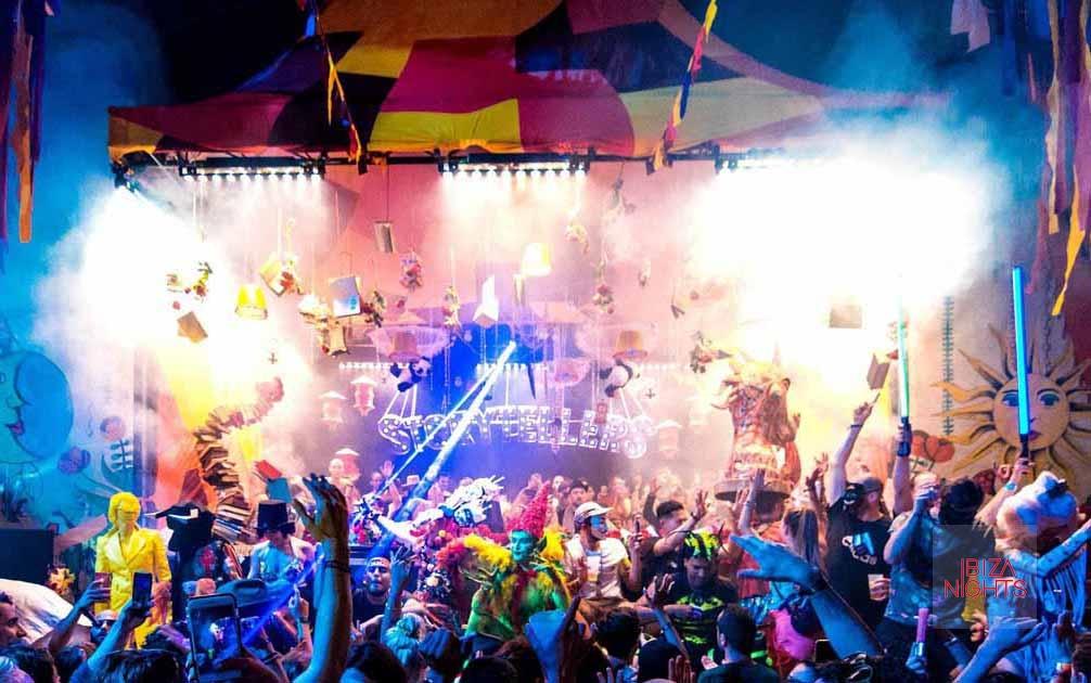 Música, espectáculo, tecnología e imaginación. Fotos: Storytellers