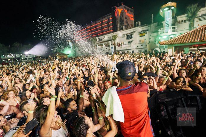 Conexión entre artista y público. Foto: Ushuaïa Ibiza