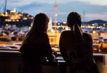 Fantásticas vistas al casco antiguo de la ciudad. Foto: STK Ibiza